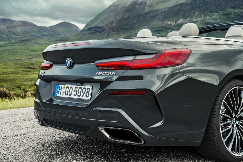 G14 BMW 8 Series Convertible – two variants, for now Image #882528