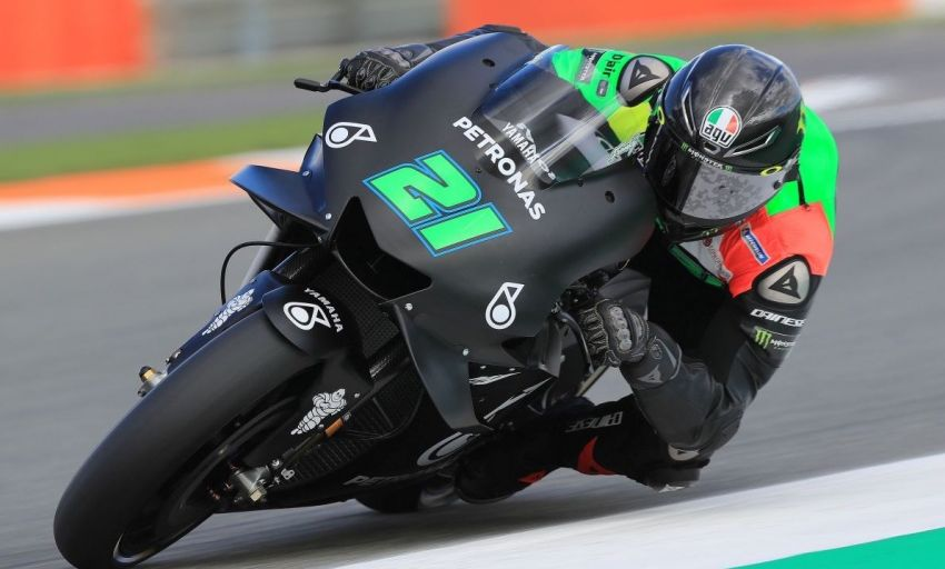 Petronas Yamaha SIC Racing team begins winter testing in Valencia, Franco Morbidelli sixth fastest Image #890598