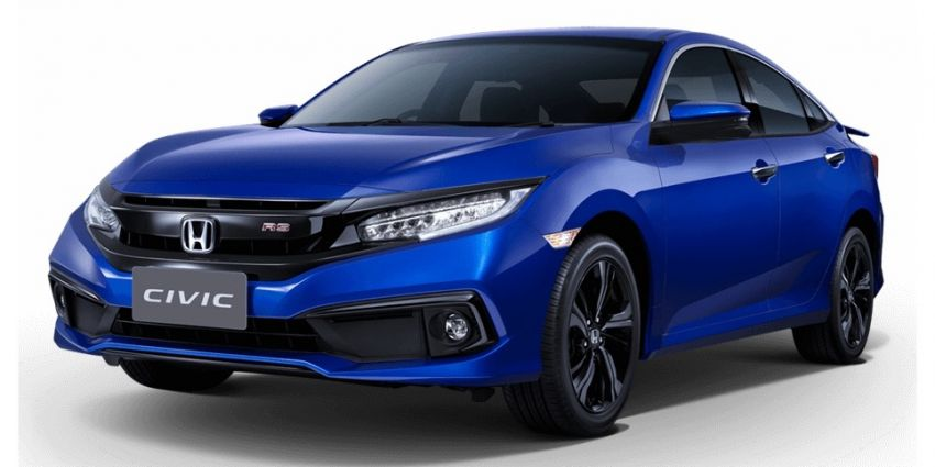 Honda Civic facelift launched in Thailand – 4 variants, 1.8L NA and 1.5L turbo, Honda Sensing introduced Image #895903