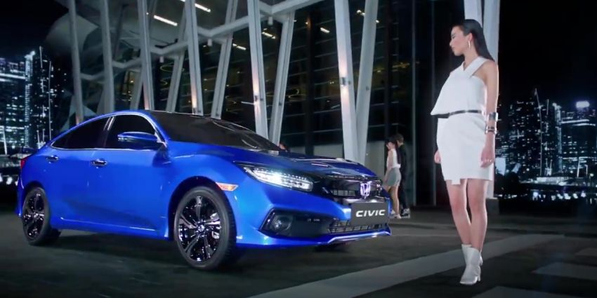 Honda Civic facelift launched in Thailand – 4 variants, 1.8L NA and 1.5L turbo, Honda Sensing introduced Image #895912
