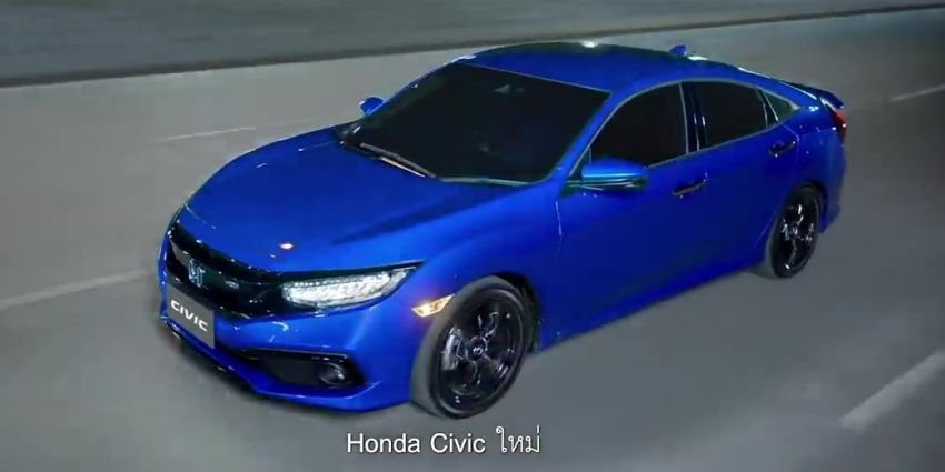 Honda Civic facelift launched in Thailand – 4 variants, 1.8L NA and 1.5L turbo, Honda Sensing introduced Image #895913