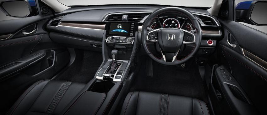 Honda Civic facelift launched in Thailand – 4 variants, 1.8L NA and 1.5L turbo, Honda Sensing introduced Image #895915