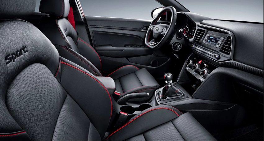 2019 Hyundai Elantra Avante Sport – 204 PS, 265 Nm Image #885729