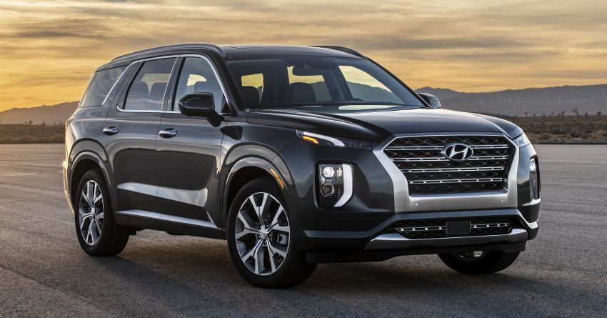 2020 Hyundai Palisade debuts – flagship eight-seat SUV, 3.8L V6, 8-speed auto, flush with safety tech Image #896072