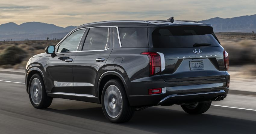 2020 Hyundai Palisade debuts – flagship eight-seat SUV, 3.8L V6, 8-speed auto, flush with safety tech Image #896083