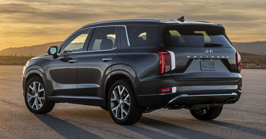 2020 Hyundai Palisade debuts – flagship eight-seat SUV, 3.8L V6, 8-speed auto, flush with safety tech Image #896084