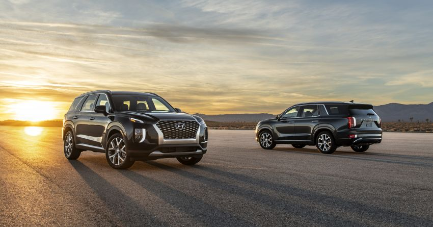 2020 Hyundai Palisade debuts – flagship eight-seat SUV, 3.8L V6, 8-speed auto, flush with safety tech Image #896085