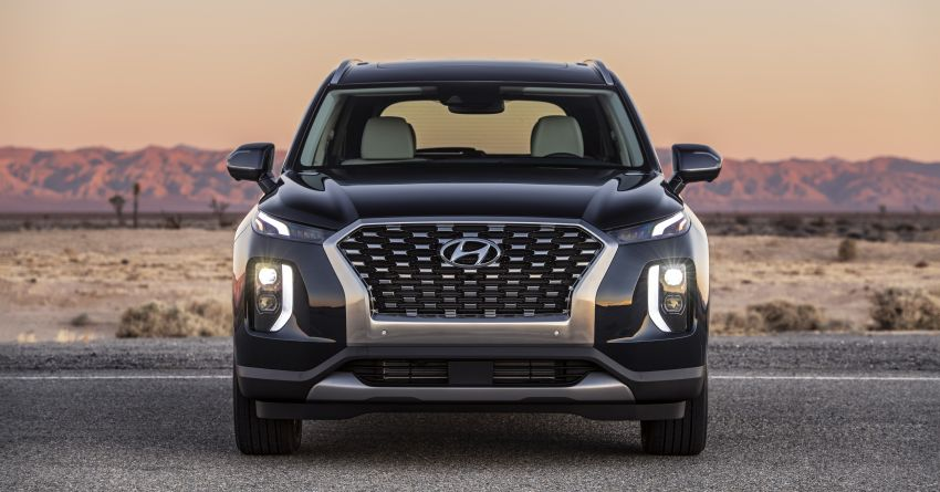 2020 Hyundai Palisade debuts – flagship eight-seat SUV, 3.8L V6, 8-speed auto, flush with safety tech Image #896089
