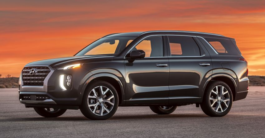 2020 Hyundai Palisade debuts – flagship eight-seat SUV, 3.8L V6, 8-speed auto, flush with safety tech Image #896073