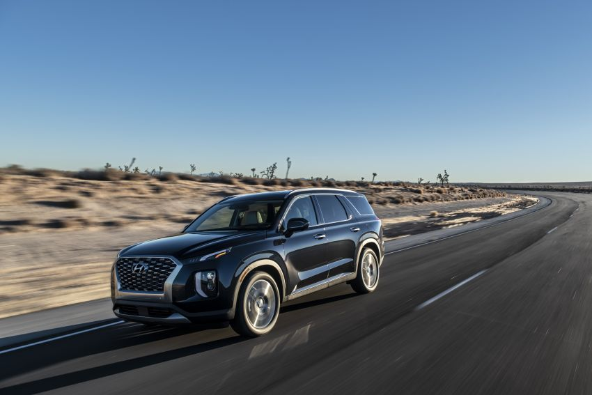 2020 Hyundai Palisade debuts – flagship eight-seat SUV, 3.8L V6, 8-speed auto, flush with safety tech Image #896092