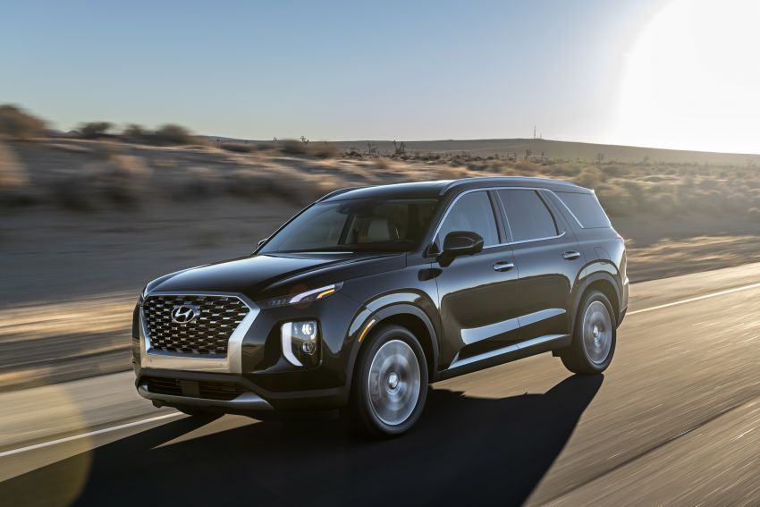 2020 Hyundai Palisade debuts – flagship eight-seat SUV, 3.8L V6, 8-speed auto, flush with safety tech Image #896099