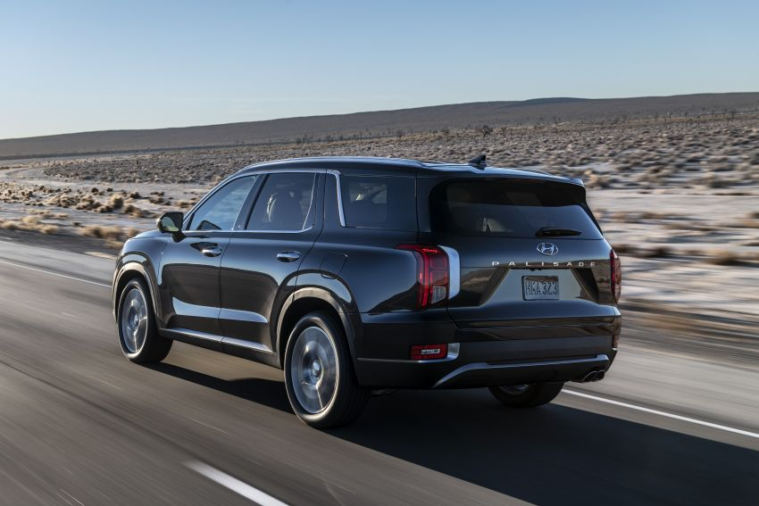 2020 Hyundai Palisade debuts – flagship eight-seat SUV, 3.8L V6, 8-speed auto, flush with safety tech Image #896103