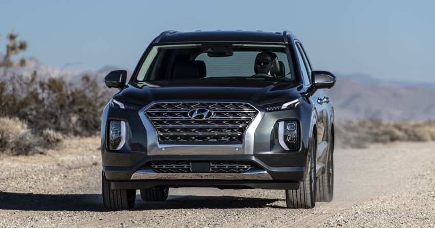 2020 Hyundai Palisade debuts – flagship eight-seat SUV, 3.8L V6, 8-speed auto, flush with safety tech Image #896105