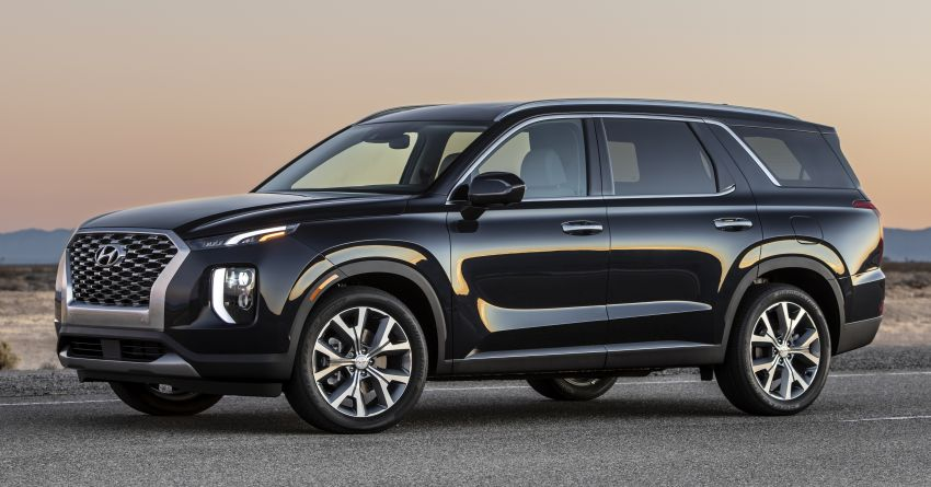 2020 Hyundai Palisade debuts – flagship eight-seat SUV, 3.8L V6, 8-speed auto, flush with safety tech Image #896074