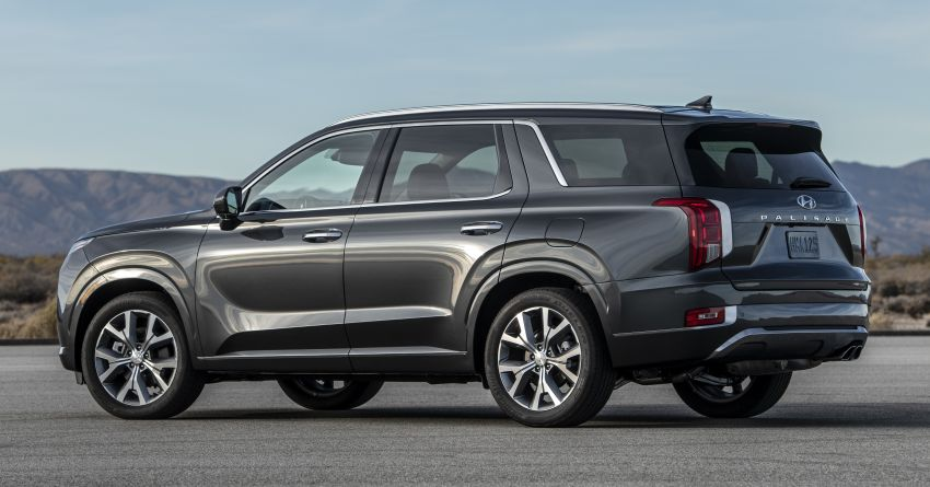 2020 Hyundai Palisade debuts – flagship eight-seat SUV, 3.8L V6, 8-speed auto, flush with safety tech Image #896078