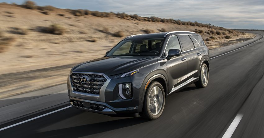 2020 Hyundai Palisade debuts – flagship eight-seat SUV, 3.8L V6, 8-speed auto, flush with safety tech Image #896079