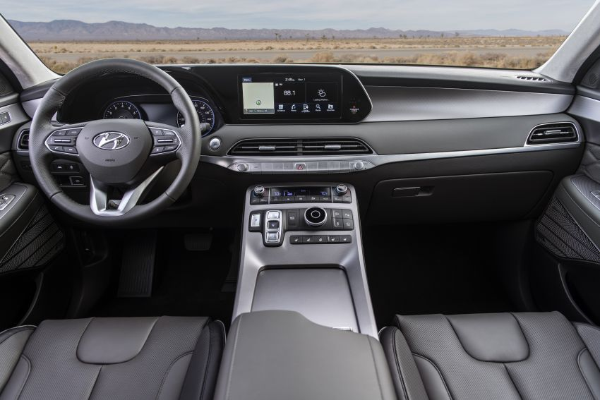 2020 Hyundai Palisade debuts – flagship eight-seat SUV, 3.8L V6, 8-speed auto, flush with safety tech Image #896118