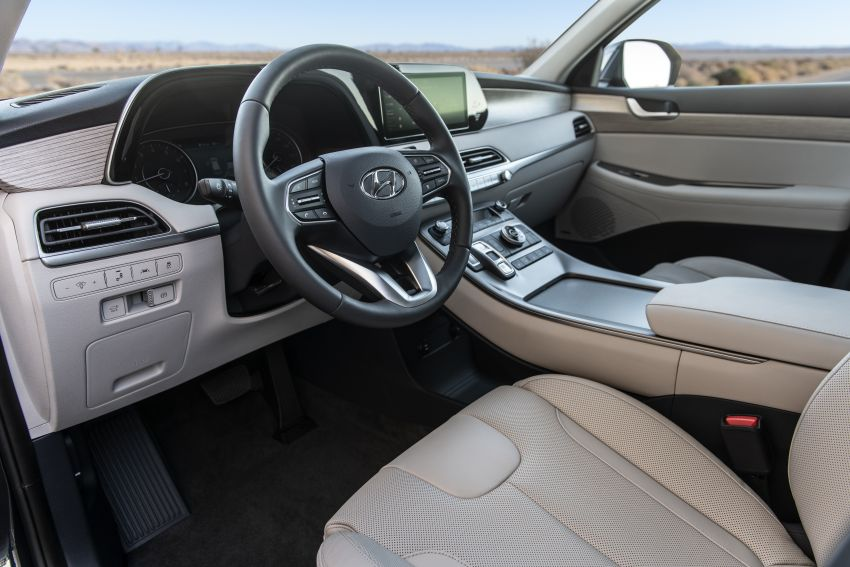 2020 Hyundai Palisade debuts – flagship eight-seat SUV, 3.8L V6, 8-speed auto, flush with safety tech Image #896124