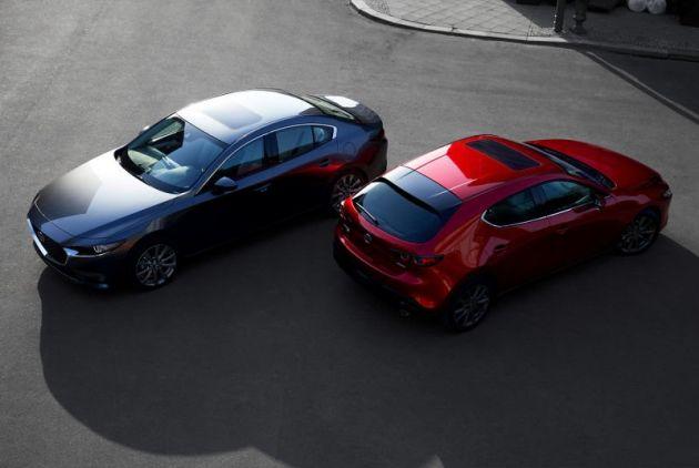 Cars For Sale Los Angeles >> 2019 Mazda 3 sedan, hatch leaked ahead of LA debut