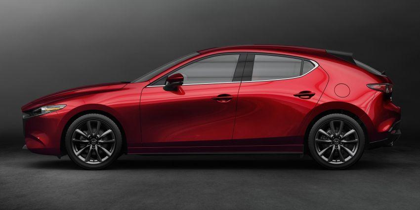 2019 Mazda 3 officially revealed – sedan, hatchback; SkyActiv-X hybrid; GVC Plus, improved i-Activsense Image #895364