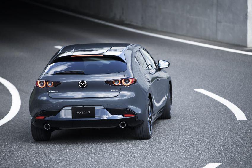 2019 Mazda 3 officially revealed – sedan, hatchback; SkyActiv-X hybrid; GVC Plus, improved i-Activsense Image #895366