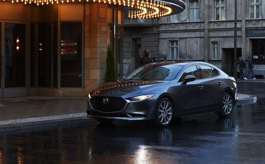 2019 Mazda 3 officially revealed – sedan, hatchback; SkyActiv-X hybrid; GVC Plus, improved i-Activsense Image #895371