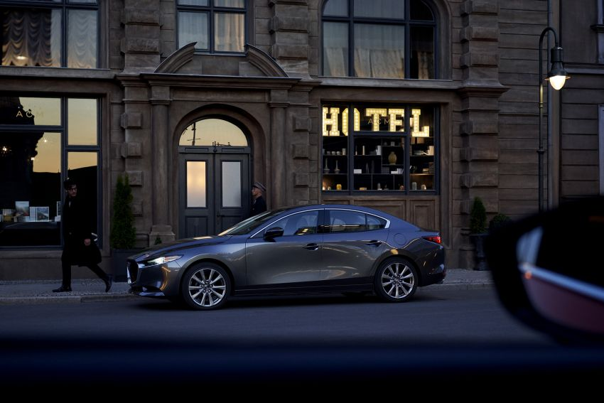 2019 Mazda 3 officially revealed – sedan, hatchback; SkyActiv-X hybrid; GVC Plus, improved i-Activsense Image #895373