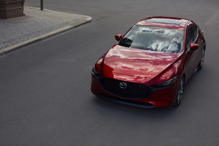 2019 Mazda 3 officially revealed – sedan, hatchback; SkyActiv-X hybrid; GVC Plus, improved i-Activsense Image #895356