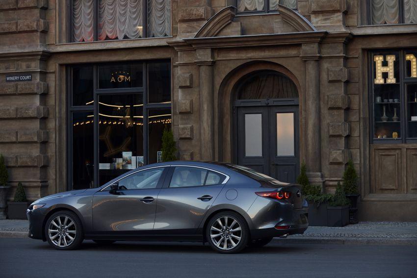 2019 Mazda 3 officially revealed – sedan, hatchback; SkyActiv-X hybrid; GVC Plus, improved i-Activsense Image #895374