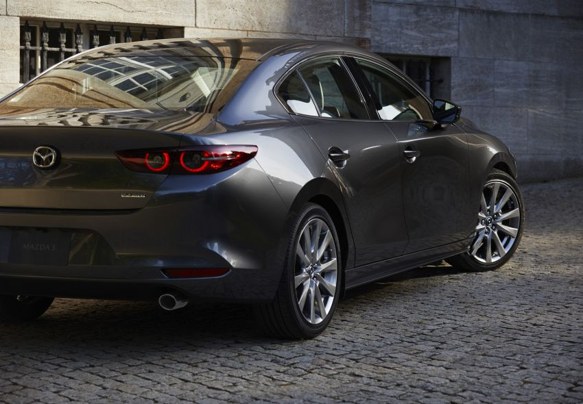 2019 Mazda 3 officially revealed – sedan, hatchback; SkyActiv-X hybrid; GVC Plus, improved i-Activsense Image #895375