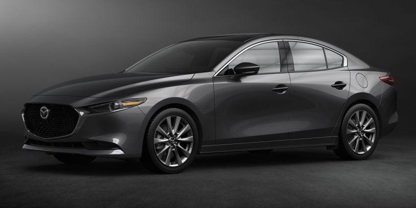 2019 Mazda 3 officially revealed – sedan, hatchback; SkyActiv-X hybrid; GVC Plus, improved i-Activsense Image #895376