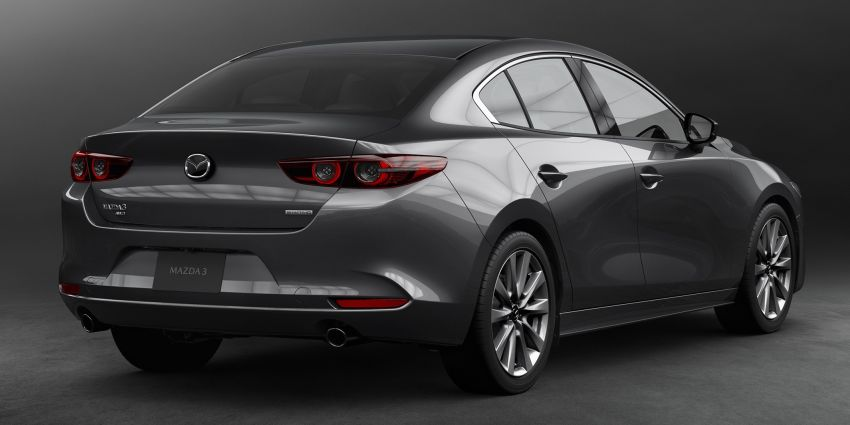2019 Mazda 3 officially revealed – sedan, hatchback; SkyActiv-X hybrid; GVC Plus, improved i-Activsense Image #895379