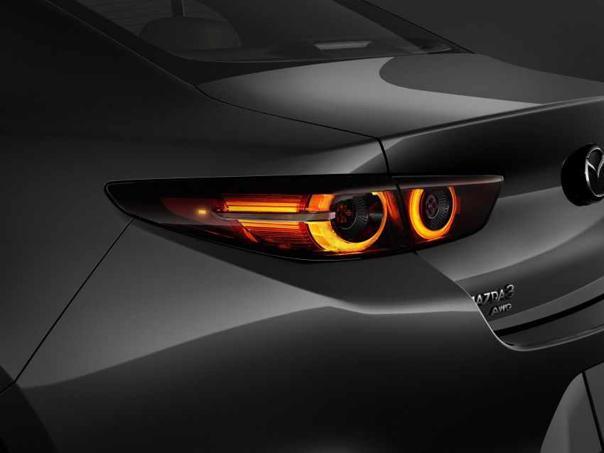2019 Mazda 3 officially revealed – sedan, hatchback; SkyActiv-X hybrid; GVC Plus, improved i-Activsense Image #895380