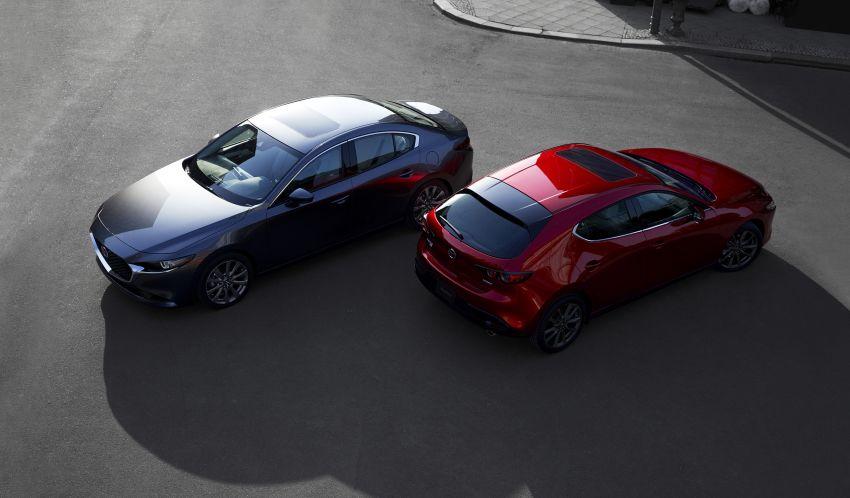 2019 Mazda 3 officially revealed – sedan, hatchback; SkyActiv-X hybrid; GVC Plus, improved i-Activsense Image #895383