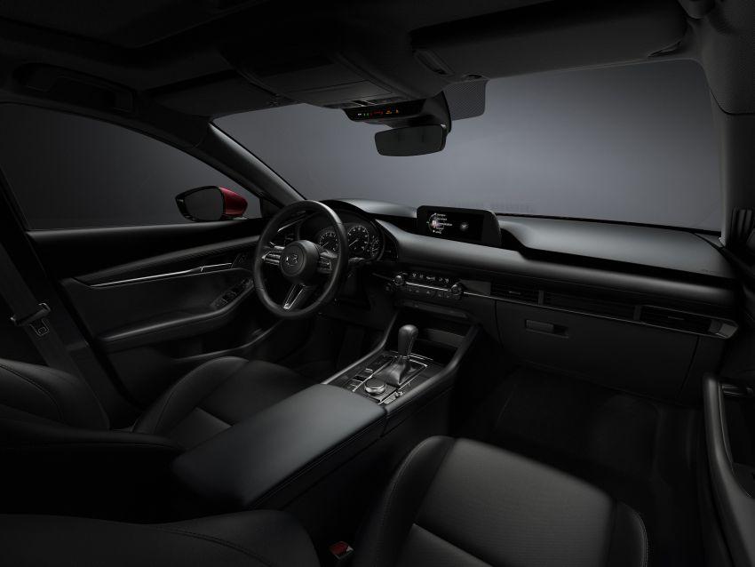 2019 Mazda 3 officially revealed – sedan, hatchback; SkyActiv-X hybrid; GVC Plus, improved i-Activsense Image #895387