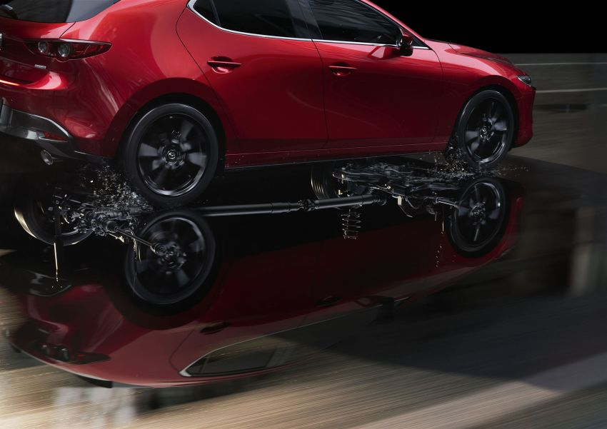 2019 Mazda 3 officially revealed – sedan, hatchback; SkyActiv-X hybrid; GVC Plus, improved i-Activsense Image #895400