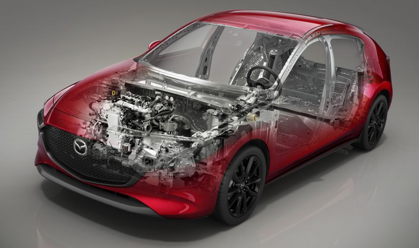2019 Mazda 3 officially revealed – sedan, hatchback; SkyActiv-X hybrid; GVC Plus, improved i-Activsense Image #895401