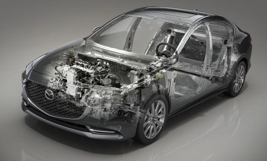 2019 Mazda 3 officially revealed – sedan, hatchback; SkyActiv-X hybrid; GVC Plus, improved i-Activsense Image #895402