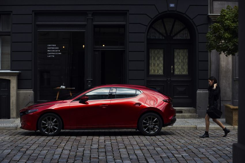 2019 Mazda 3 officially revealed – sedan, hatchback; SkyActiv-X hybrid; GVC Plus, improved i-Activsense Image #895360