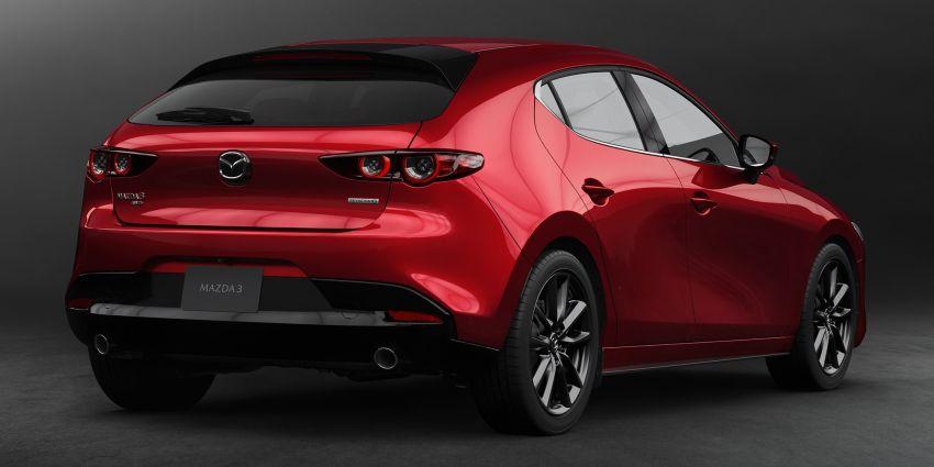 2019 Mazda 3 officially revealed – sedan, hatchback; SkyActiv-X hybrid; GVC Plus, improved i-Activsense Image #895363