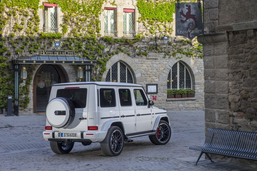 DRIVEN: 2019 Mercedes-AMG G63 – high-rise athlete Image #888434