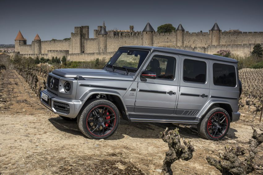 DRIVEN: 2019 Mercedes-AMG G63 – high-rise athlete Image #888448