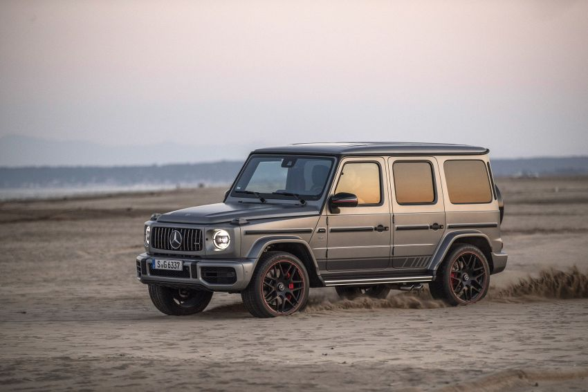 DRIVEN: 2019 Mercedes-AMG G63 – high-rise athlete Image #888451