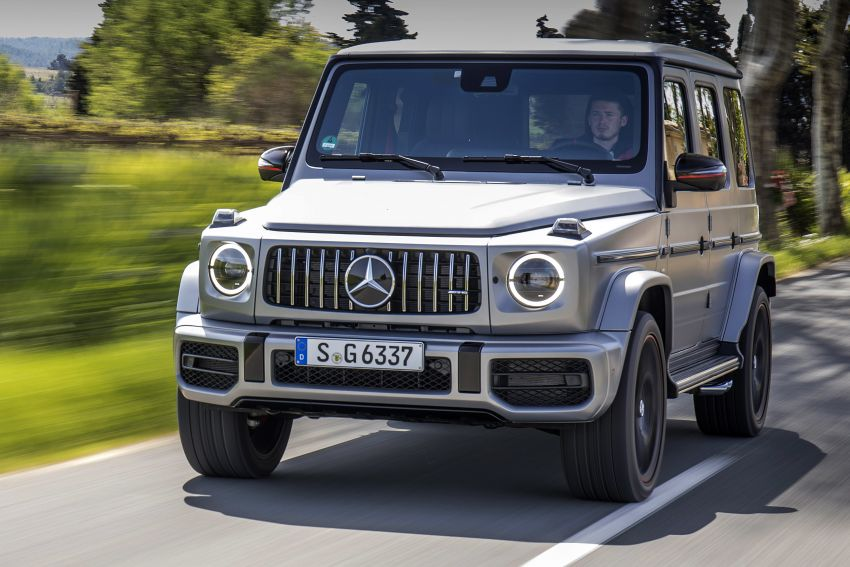 DRIVEN: 2019 Mercedes-AMG G63 – high-rise athlete Image #888452