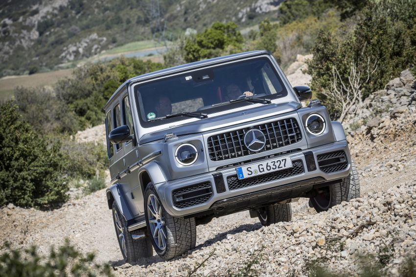 DRIVEN: 2019 Mercedes-AMG G63 – high-rise athlete Image #888455