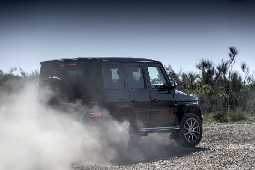 DRIVEN: 2019 Mercedes-AMG G63 – high-rise athlete Image #888456