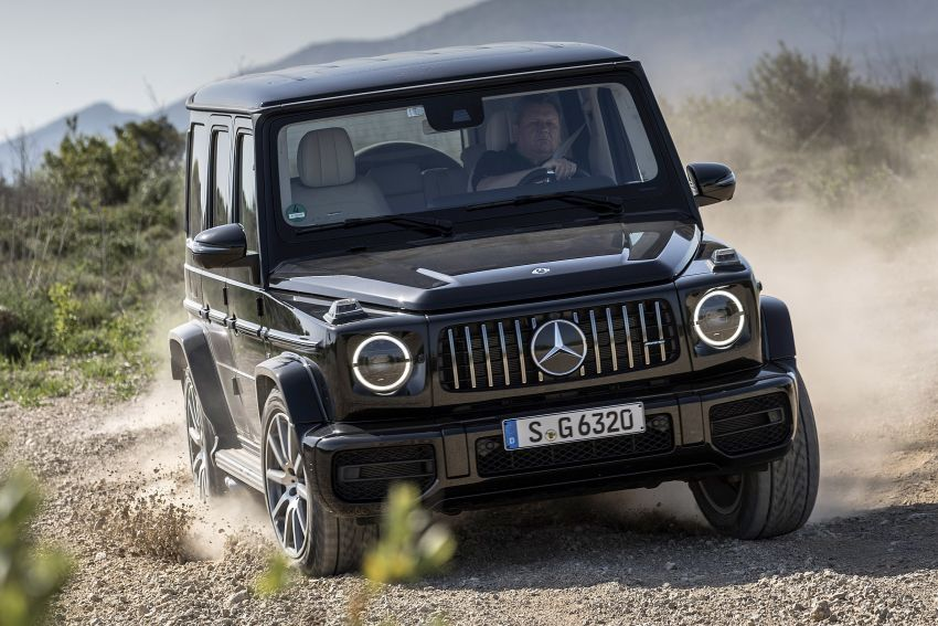 DRIVEN: 2019 Mercedes-AMG G63 – high-rise athlete Image #888457