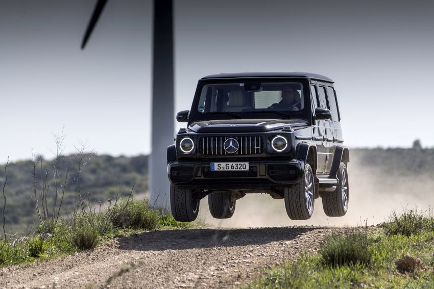 DRIVEN: 2019 Mercedes-AMG G63 – high-rise athlete Image #888458