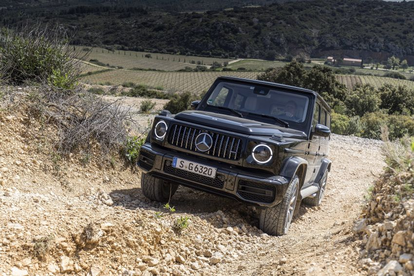 DRIVEN: 2019 Mercedes-AMG G63 – high-rise athlete Image #888460
