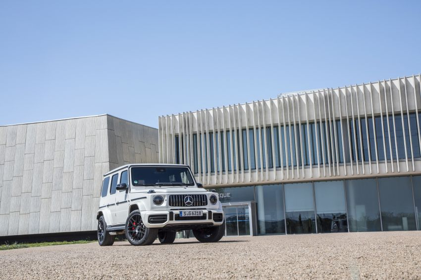 DRIVEN: 2019 Mercedes-AMG G63 – high-rise athlete Image #888438